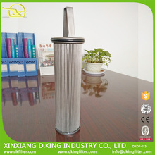 Basket mesh strainer filter element