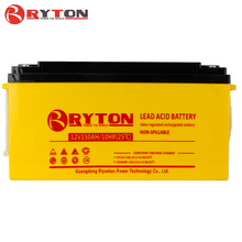 RYTON POWER lead acid battery 2v 100ah for hot sale solar system toys price with T terminal