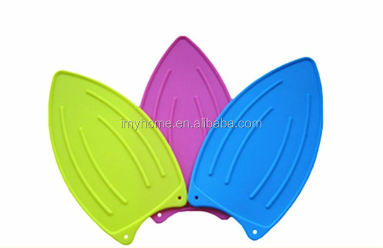 Novelty Heat Resistant Silicone Iron Pad Silicon Table Hot Pad