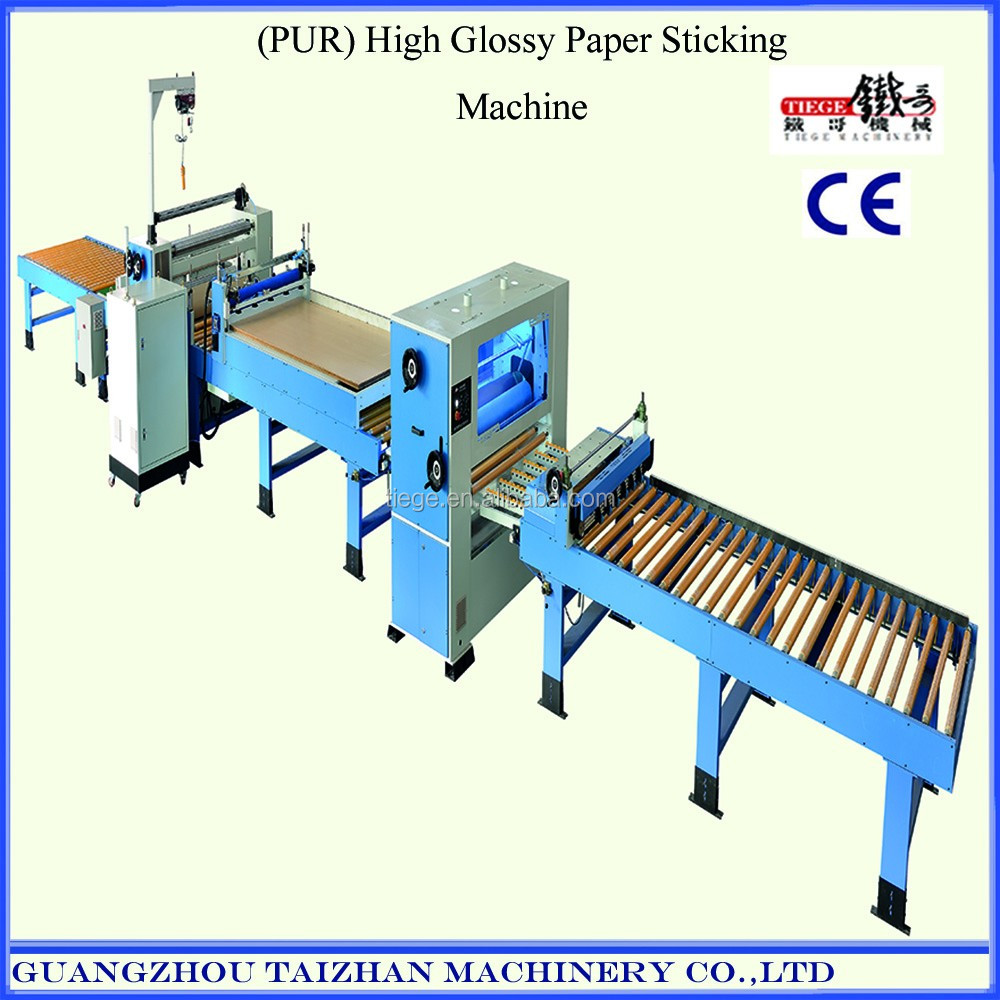 PVC film laminating Machine