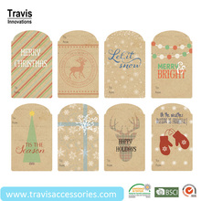 Hot Christmas Gift Packing Tags,Small Hangtags For Festival Holiday