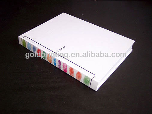professional hardcover book/cook book/menu book printing