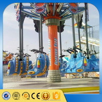 Funfair ride thrilling flight simulator air flying ride for sale