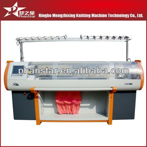 computerized flat knitting machine for home use sweater making machine
