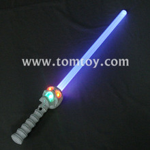 Halloween LED Light Up Talking Skull Sword Skeleton Prop
