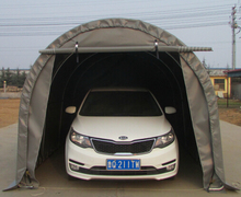 SS-1020R outdoor metal steel structure car parking canopy