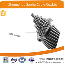 overhead aluminum Conductor steel reinforeced ACSR Cable QUAIL 2/0AWG (6+1/3.78mm)/PIGEON 3/0AWG(6+1/4.25mm)
