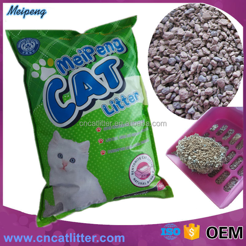 pet accessories kitty litter bentonite cat sand wholesale