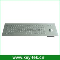 Mechanical Trackball Industrial terminal metal keyboards
