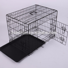 Hot folding metal wire mesh dog cage crate dog house