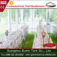 large white well furnished catering wedding party tent for sale