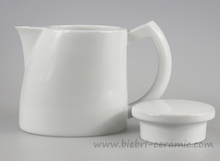 1000ml Antique Plain White Custom Printed Porcelain Ceramic Teapot Water Kettle With Mugs Cups Sets