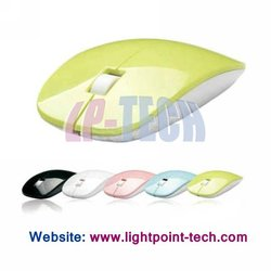 2012 Shenzhen manufacture colourful 1600DPI USB 3D wirelss optical mouse for computer