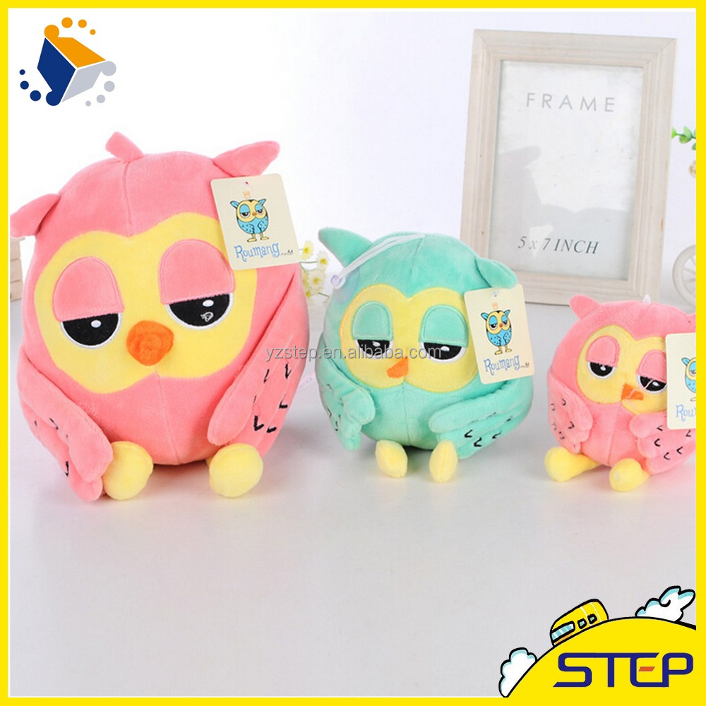 2016 Hot Sale OEM Design Stuffed Animal Cartoon Cute Owl Plush Toy Baby Toys Gifts ST1632519