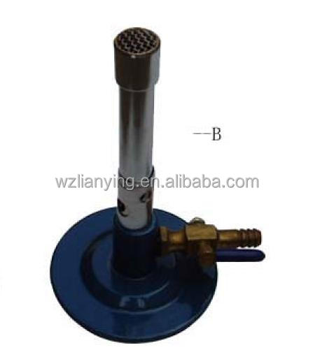 Bunsen Burner with Valve for teaching experiment