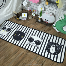 Black and white dogs rugs for living room carpet handmade children carpet