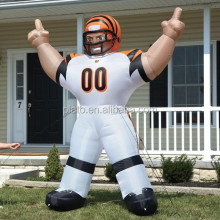 Denver Broncos NFL Inflatable Bubba Player Lawn Figure/cheap inflatable football player for sale