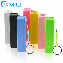 MIQ lipstick power bank portable phone charger 2000mah