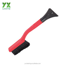 Heavy-Duty Snow Brush With Ice Scraper short Handle