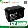 12V 100AH deep cycle battery,12V 100AH lead acid battery,12V 100AH solar battery