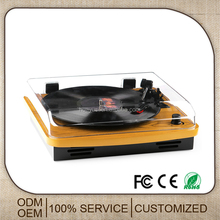 Best Price Wooden Gramophone And Lp Turntable Phonograph Record Player