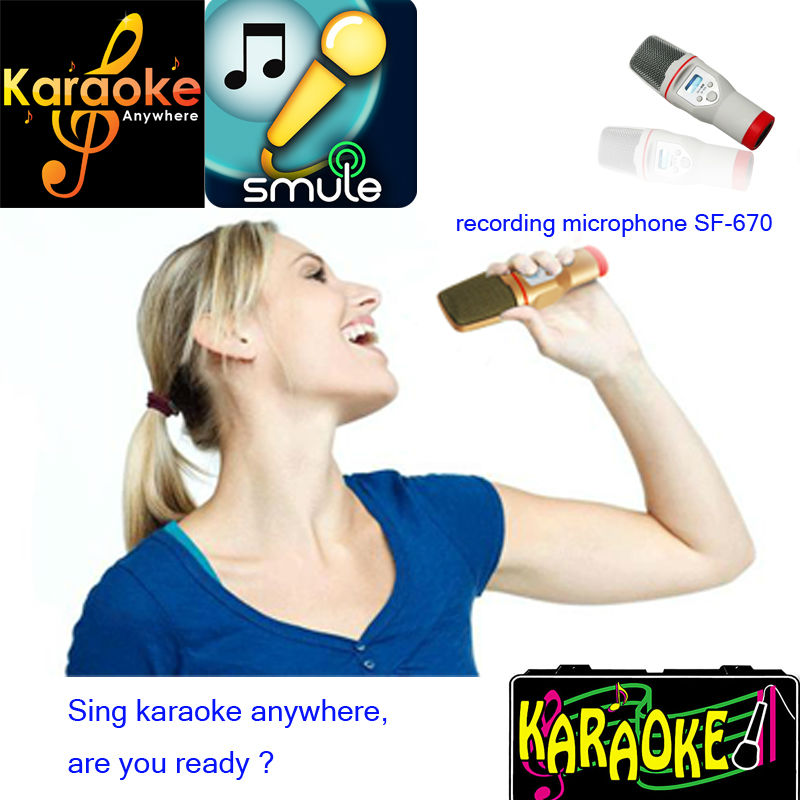 karaoke video recording for fuuny and youtube
