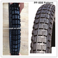 Popular motorcycle tube tires 275x18 with many patterns