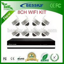 2015 Hot sale Bessky security camera, outdoor wireless wifi ip camera,cctv 1.3mp camera kit
