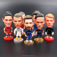Custom Polyresin football player soccer bobble head figure