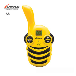 Yellow Color Children Walkie Talkies A8 Baby Walkie Talkie