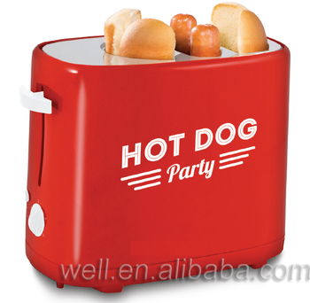 hot dog waffle maker bread toaster Hot dog toaster