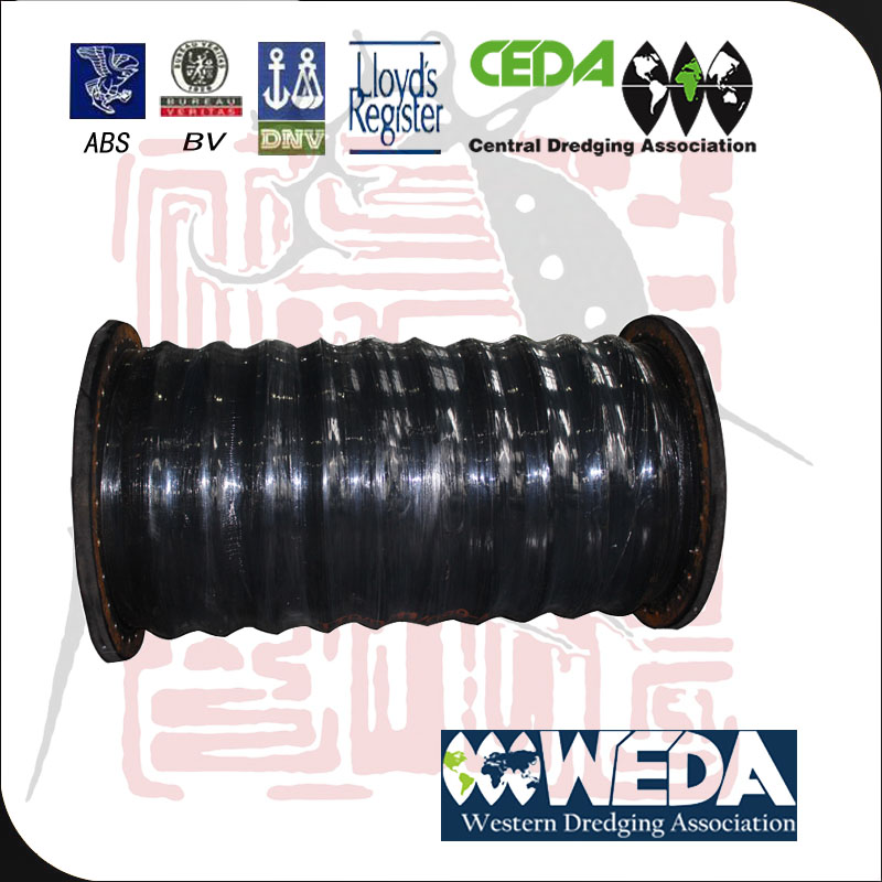 Dredging rubber suction hose