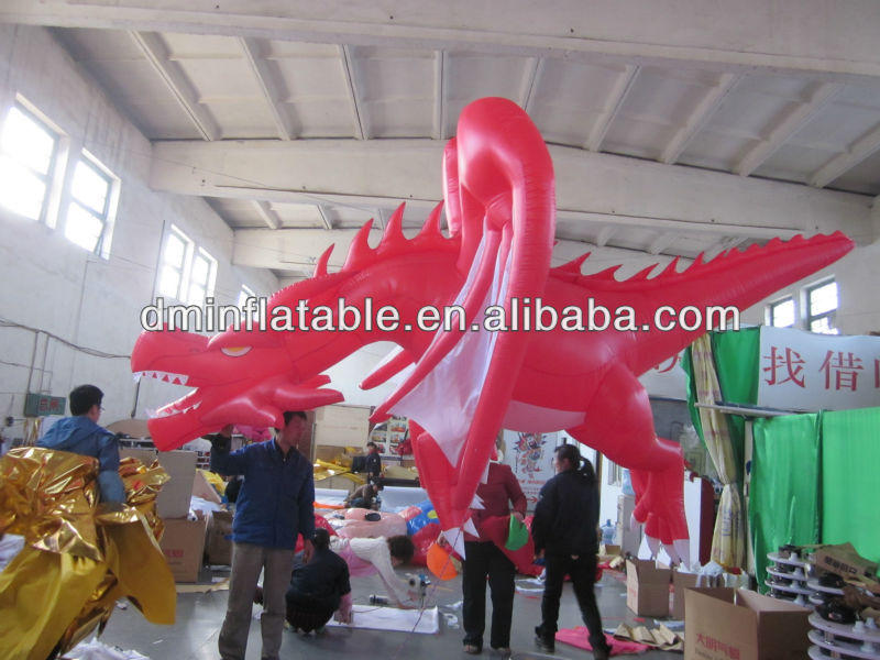 Inflatable dragon, advertisement inflatable dragon, ride-on toy inflatable dragon toy
