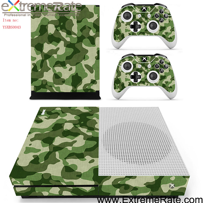 Traditional army theme design skin stickers for Xbox One S decal YSXBS0043