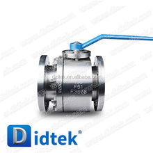 Didtek High Quality International Agent ball valve flanged