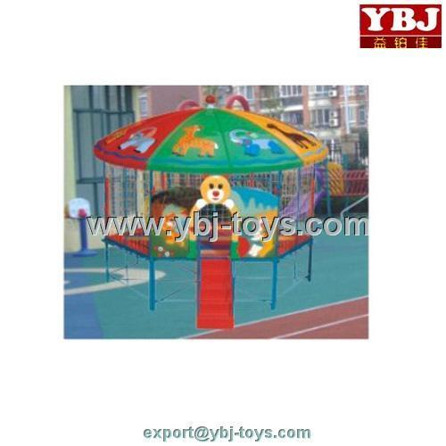functional cartoon amusement professional 10ft trampoline prices