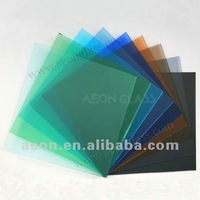 3mm-12mm Bronze Grey Blue Green Pink STAINED GLASS with CE ISO certificate