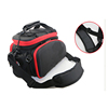 600D polyester strong oxford eco-friendly bicycle saddle wheel bag, cycling frame plastic pannier bike bags