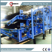 Stable quality automatic electrical double doffer carding machine