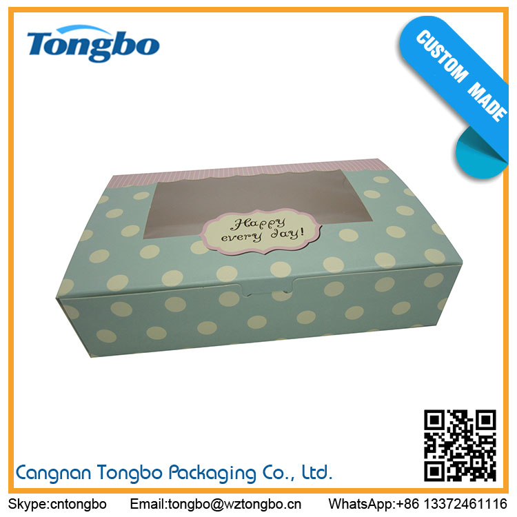 Wholesale Low Price fancy paper cake boxes
