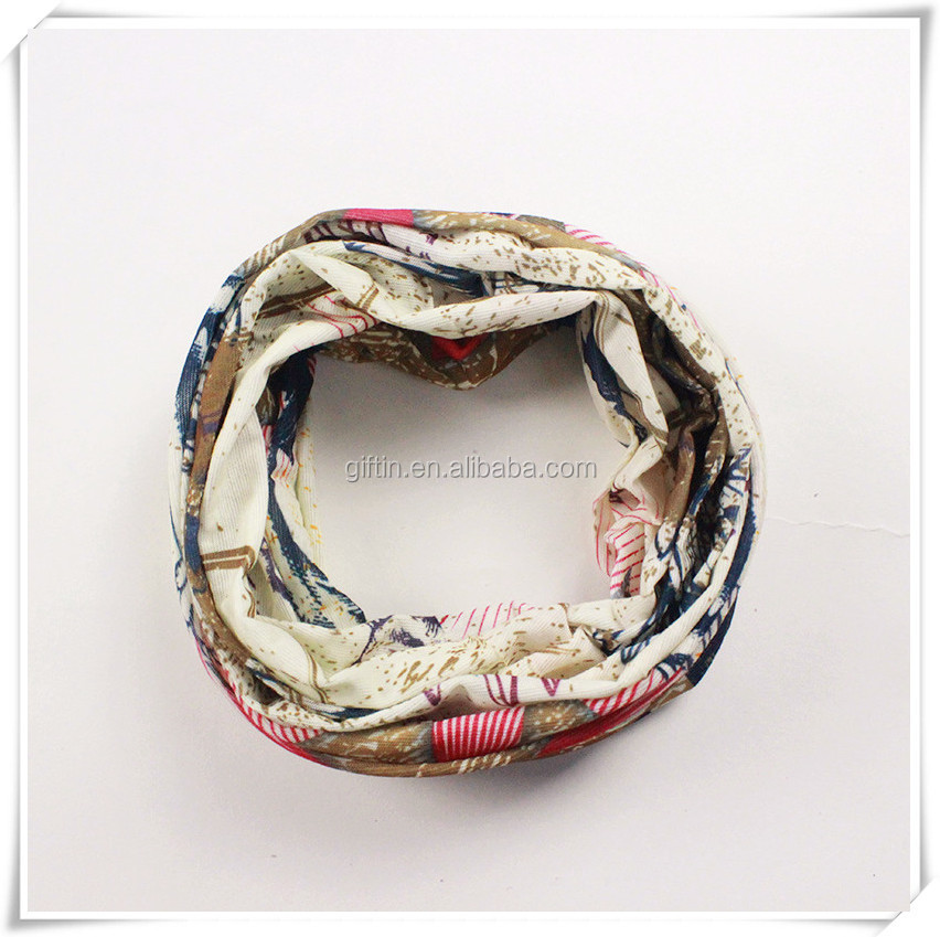Wholesale new fashion floral print lady's pure custom silk printed scarf