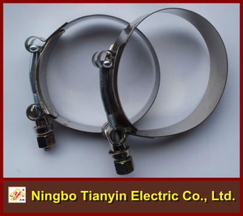 High Quality T Type Hose Clamp