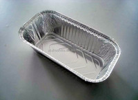 house used aluminium foil food container
