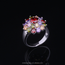 Mail order accept wholesale zircon women university graduation rings