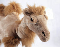 Children gift custom stuffed realistic animal camel plush toy