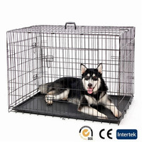 strong wire metal welded outdoor dog cage kennel