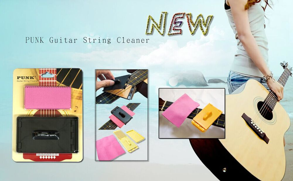 New!Guitar String Cleaner,Unique Guitar Accessories