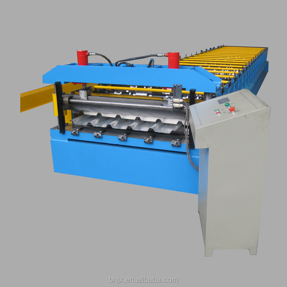 New design steel knauf cold roll forming machine for roof metal structure