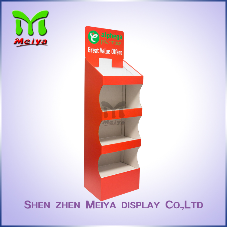 OEM Brand China cheap cardboard display stand For Shoes Box Packing