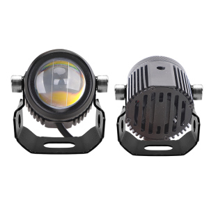 working light strobe 15W 4x4 Truck Led Working Light Dual Color White + Yellow offroad for motorcycle